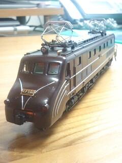 鉄道模型 EF55